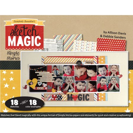 Scrapbook Generation Sketch Magic With Simple Stories Walmart