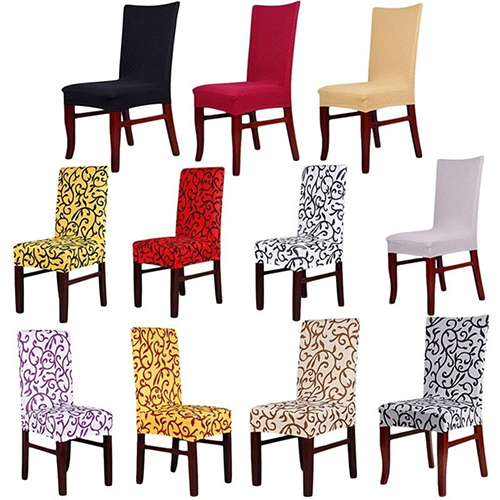 Directer Stretch Banquet Slipcovers Dining Room Wedding Folding Party Short Chair Covers