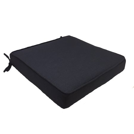Cushion Only Set - Better Homes and Gardens Navy Dining Seat Cushion - Set of 2
