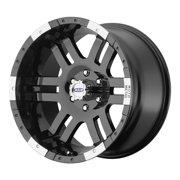 Moto Metal mo951 18x9 6x139.7 18et 106.25mm gloss black machined wheel