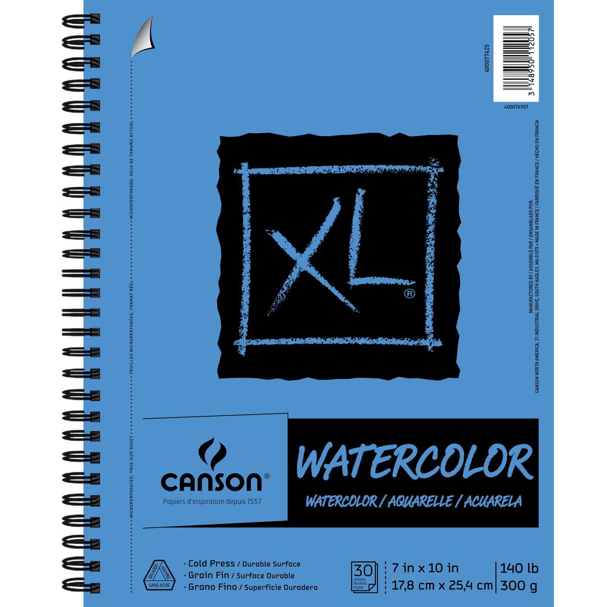 "Canson XL Watercolor Pad 7""X10""-30 Sheets"