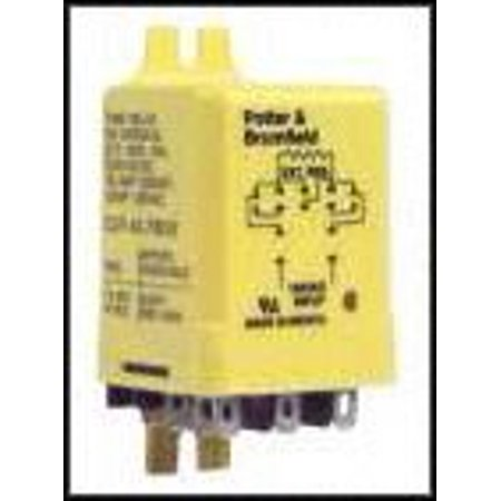 Amperite Time Delay Relay (TE CONNECTIVITY / POTTER & BRUMFIELD CUF-41-70120 TIME DELAY RELAY, DPDT, 120SEC, 120VAC)