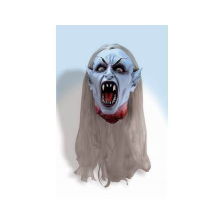 GOTHIC VAMPIRE HEAD PROP - Animated Vampire Coffin Halloween Inflatable Prop