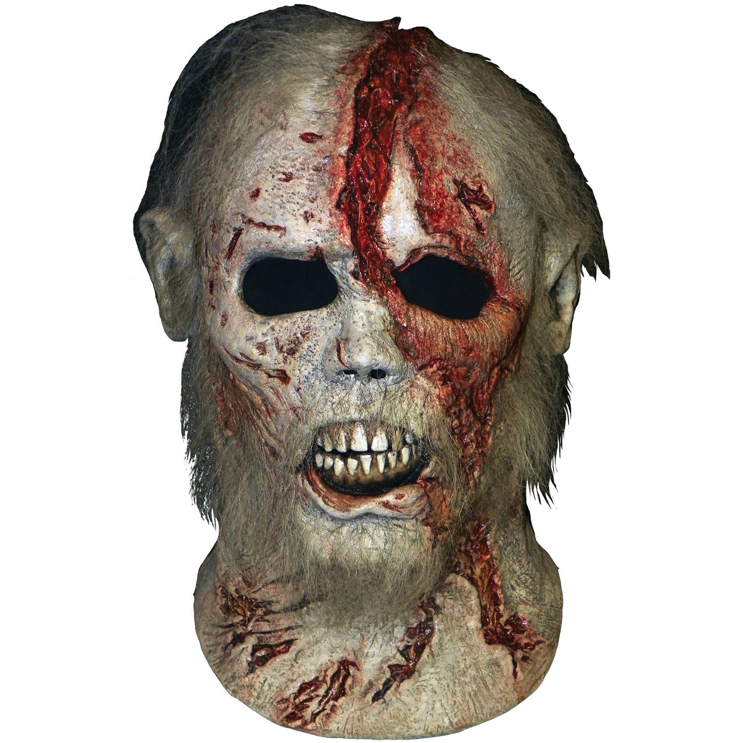 Walking Dead Beard Walker Mask Adult Halloween Accessory