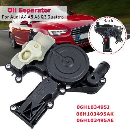 Oil Separator PCV Valve For Audi A4 A5 A6 Q3 Allroad Quattro