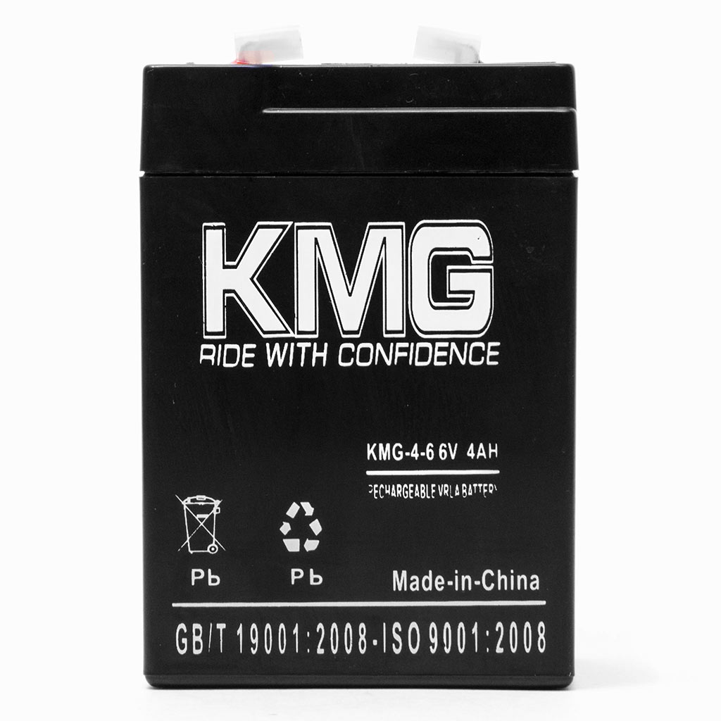 KMG 6V 4Ah Replacement Battery for Lithonia EXP36 F12G1 FAP FAS FG1 LLBE2 P12G1 - image 1 of 3
