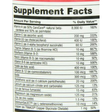 Maxi Health Teen Supreme - Hers - Advanced Multivitamins For Teenage Girls , 120 Capsules ,