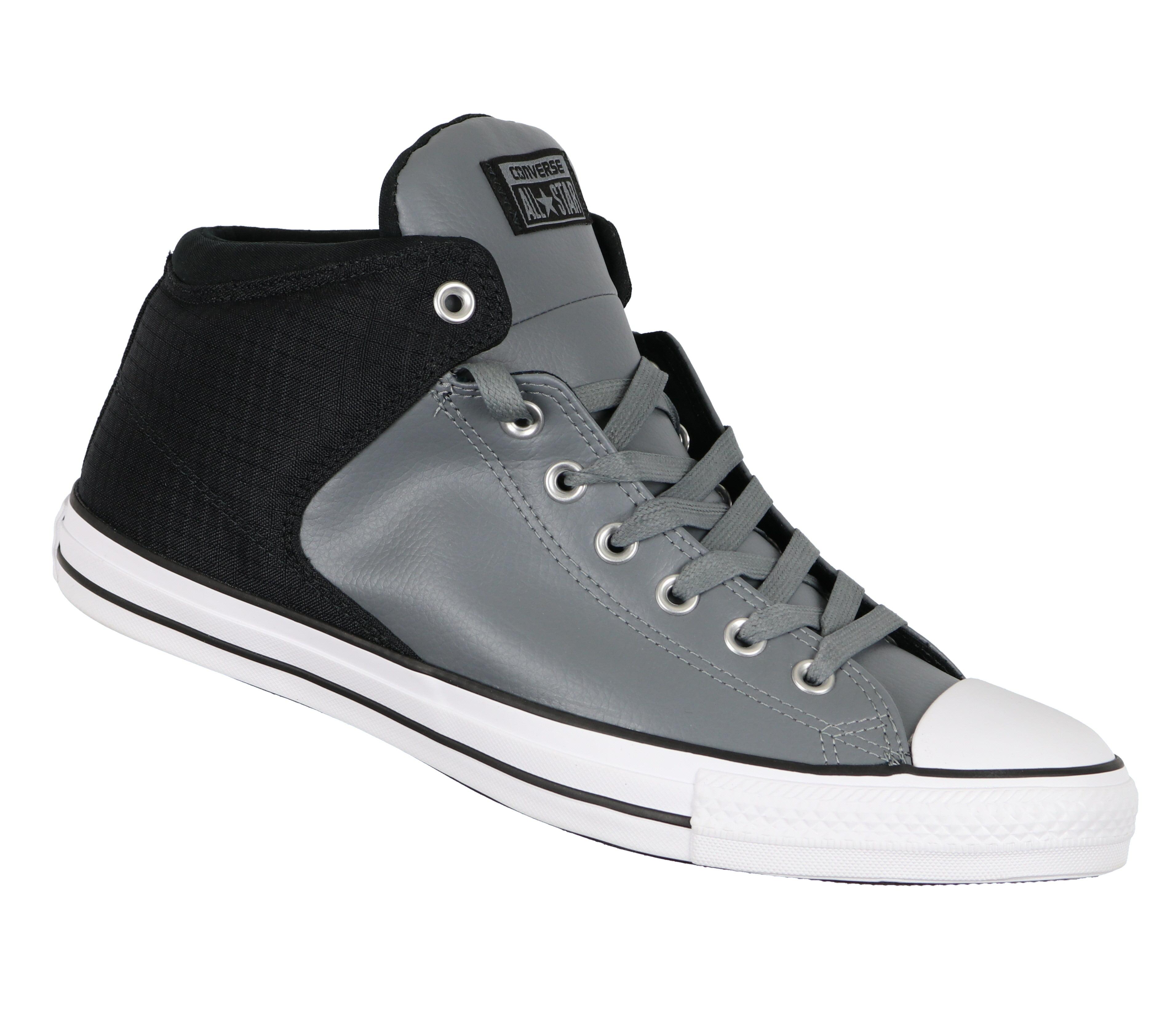 Converse Men's Chuck Taylor All Star High Street Hi Tops sz 12 Gray Black 159453C