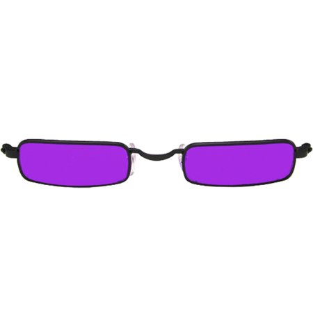 WMU Glasses Vampire Black Purple- Case of 2