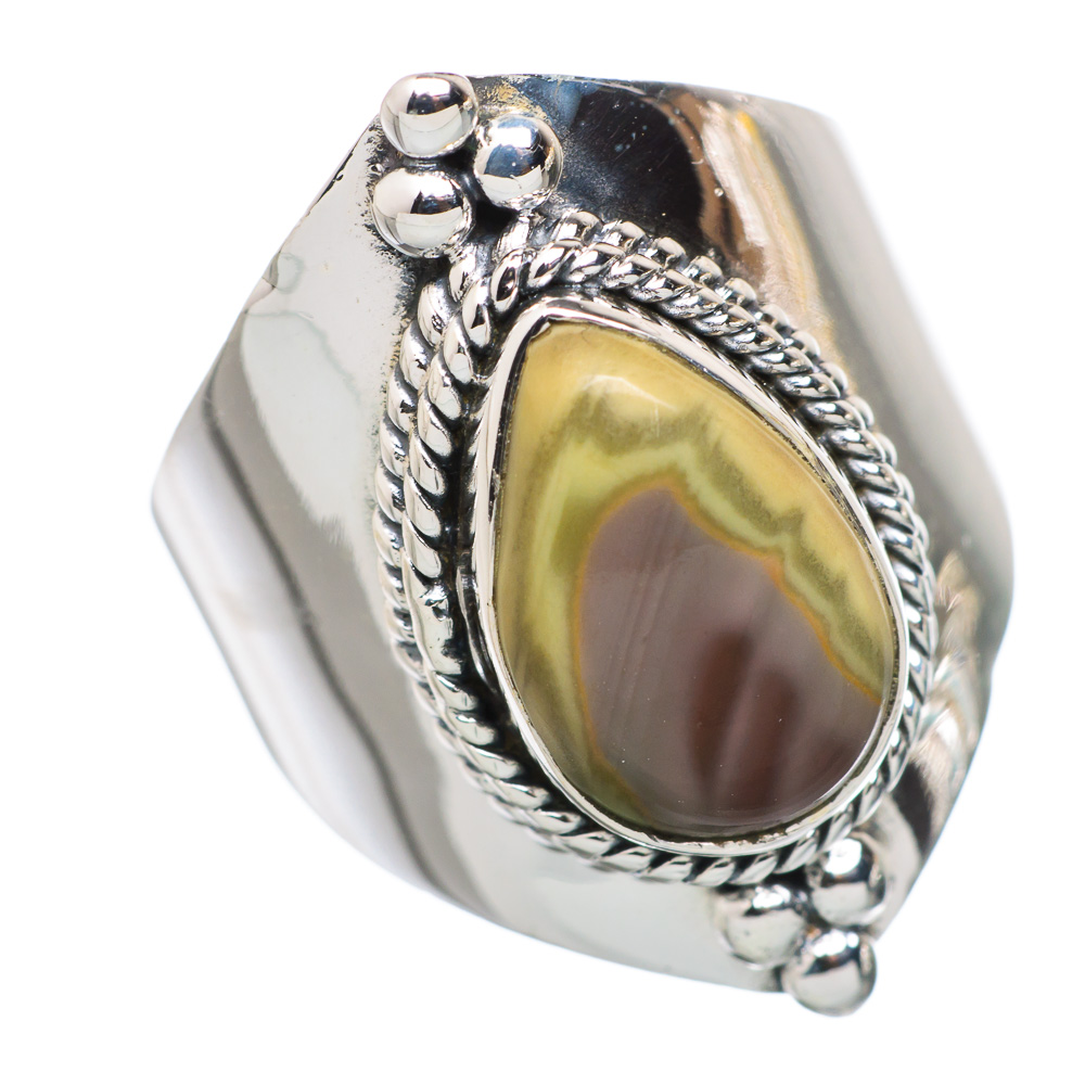 Ana Silver Co Imperial Jasper 925 Sterling Silver Ring Size 7 RING798727