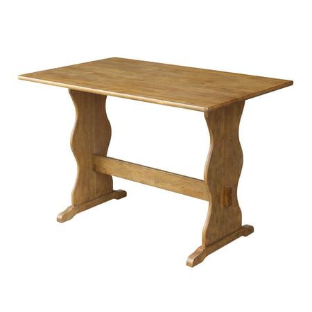Wood Trestle Table - Pecan -
