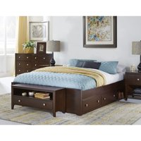 Hillsdale Pulse Platform Bed with Storage, Multiple Sizes and Colors