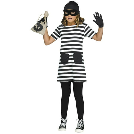 Burglar Child Costume - Woman Burglar Halloween Costume