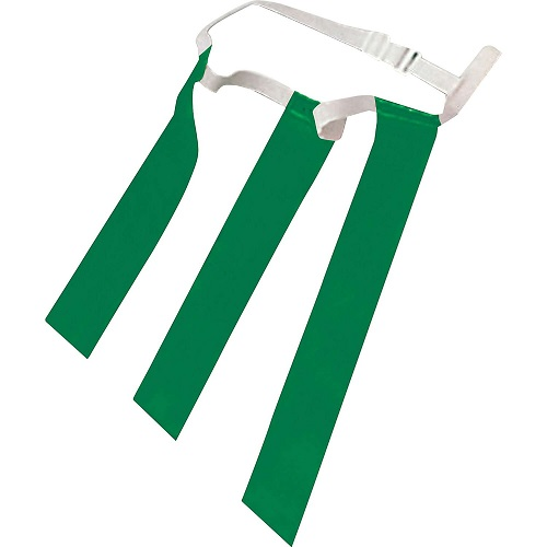 CHAMPRO Triple Flag Football Belt Green