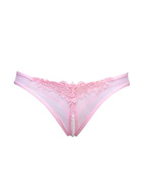 9e8862ea1ec Product Image Pearl Open Crotch Mesh Briefs Erotic Lingerie Sex Underwear  for Women (Black)