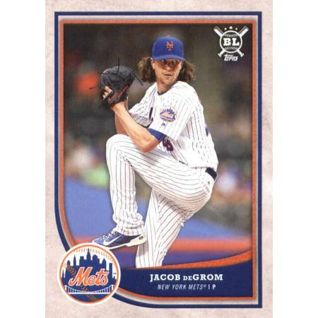 2018 Topps Big League #219 Jacob deGrom New York Mets Baseball Card - *GOTBASEBALLCARDS - Jacobs Trading