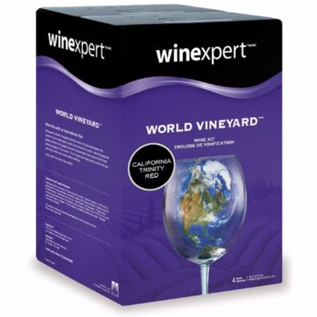 California Trinity Red (World Vineyard) Wine Ingredient Kit