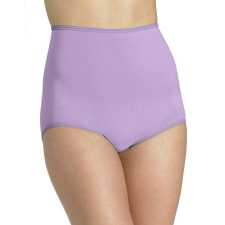 Bali Skimp Skamp Women`s Brief Panty - Best-Seller, 9, Pale
