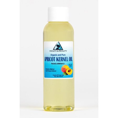 APRICOT KERNEL OIL REFINED ORGANIC CARRIER COLD PRESSED 100% PURE 2 (Apricot Kernel Oil)