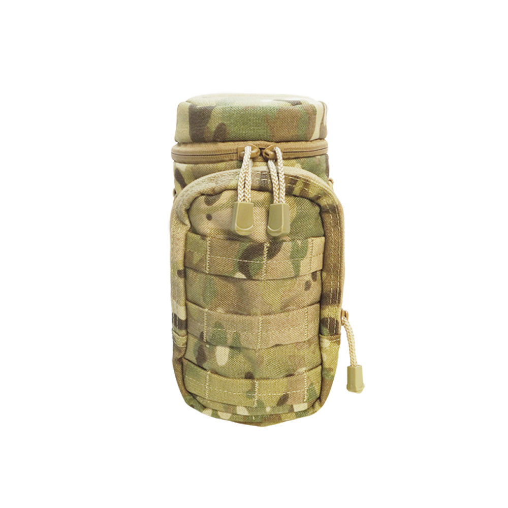 Molle Water Hydration Pouch Carrier Utility Pocket Water Pack Carrier-MULTICAM by