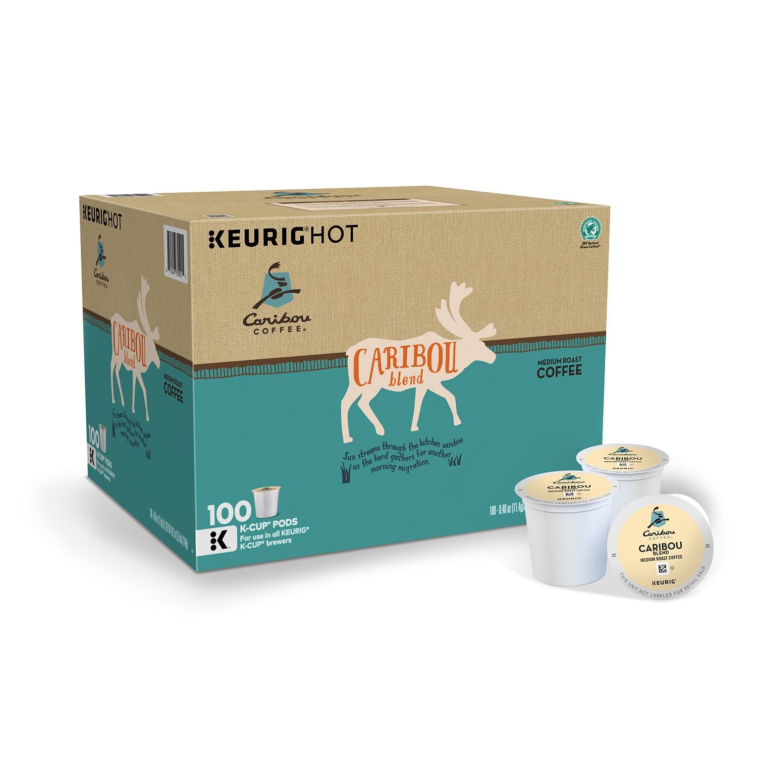 Caribou Coffee Blend (100 K-Cups)