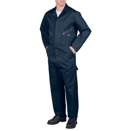 Dickies Mens Deluxe Cotton Coverall, Dark Navy - L RG