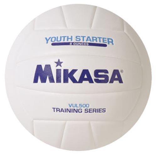 Mikasa Youth Starter Volleyball VUL500 VUL 500 Training Ball 8 Ounce
