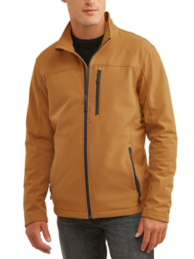 SwissTech Men's Softshell Jacket Up To Size 5Xl