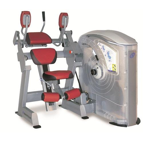 Nautilus One Ab Crunch Machine 250 Lbs - 1 Lb Increments