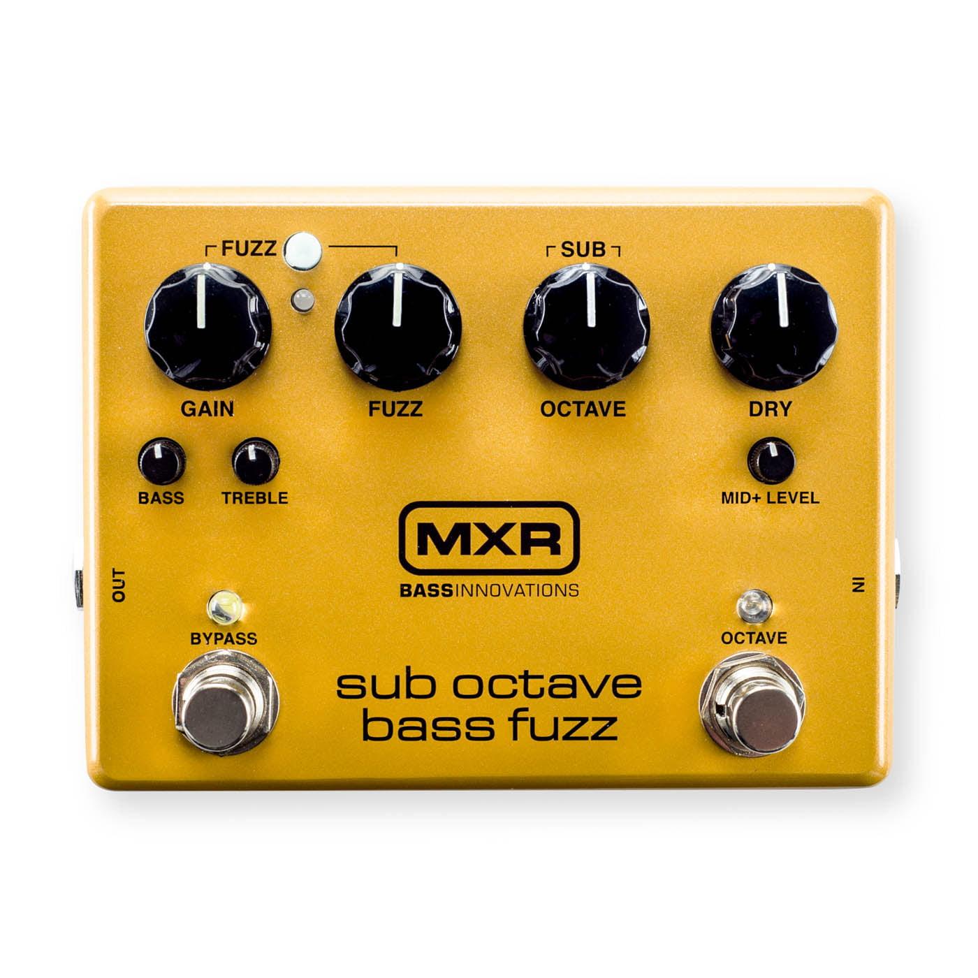 Dunlop MXR M287 Sub Octave Bass Fuzz Pedal by Dunlop