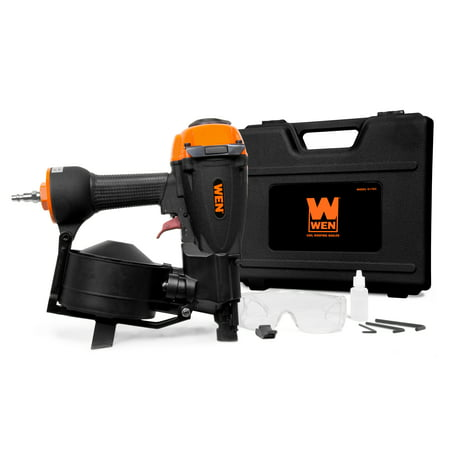 WEN 3/4-Inch to 1-3/4-Inch Pneumatic Coil Roofing Nailer