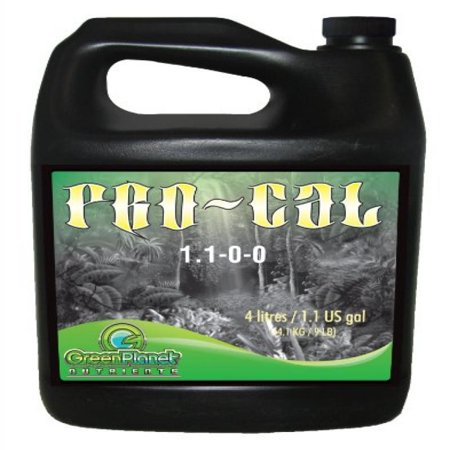 Green Planet Nutrients - PRO-CAL (1 Liter) | Highly Beneficial Calcium, Magnesium and Iron Plant Nutrient Supplement - More Concentrated Than Competitive Products - Helps Increase Overall Density in