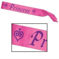 "1PK Princess Satin Sash ,Item per pack: 1eachSize: 27"" x 3.5"""