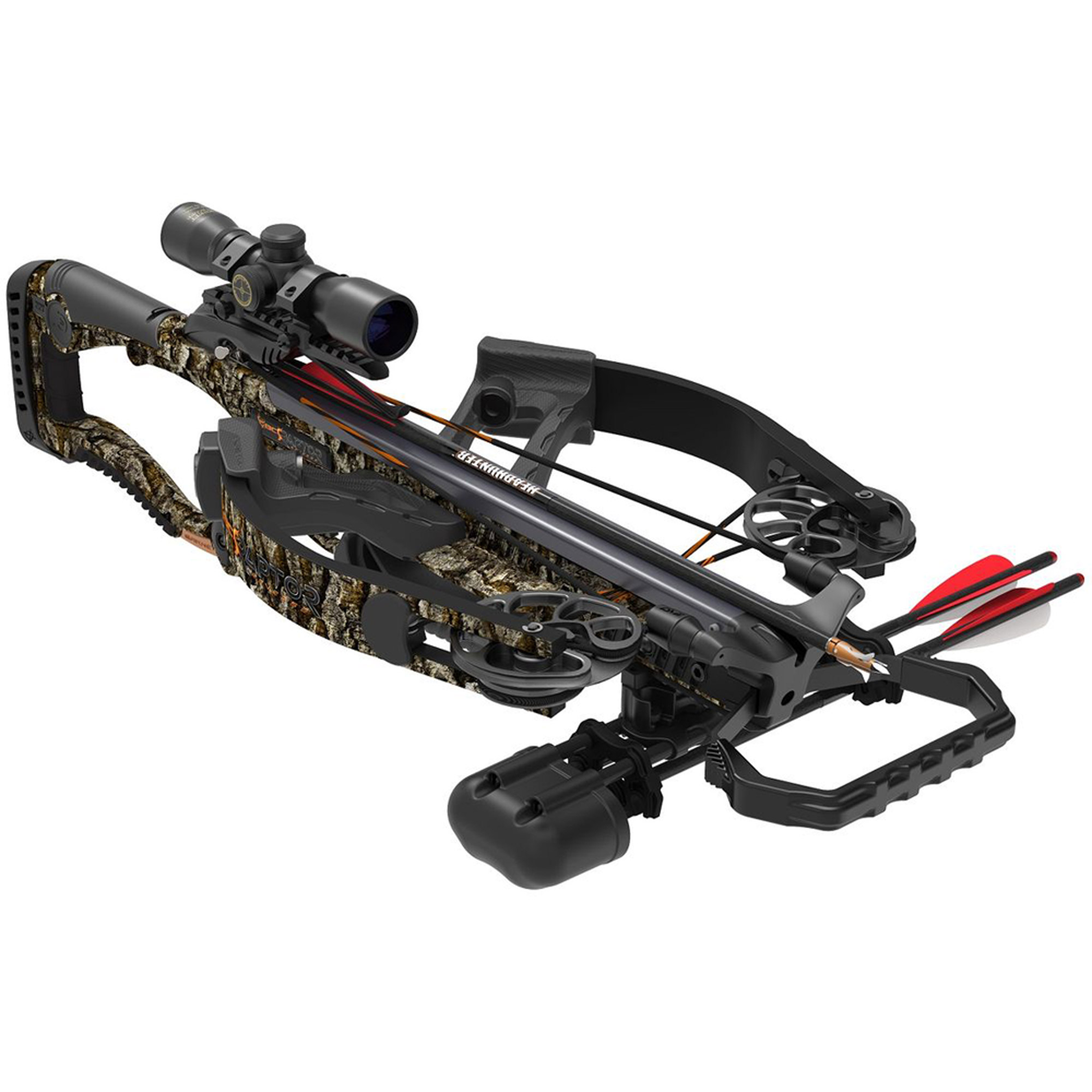 Click here to buy Barnett BC Raptor Reverse Draw Crossbow Package by Barnett.