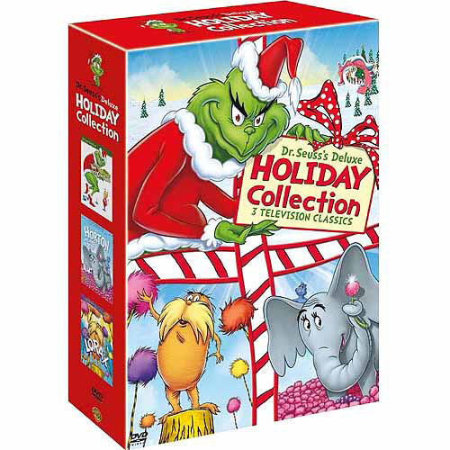 Dr. Seuss: Deluxe Holiday Collection - How The Grinch Stole Christmas / The Lorax / Horton Hears A Who