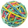 """""""UNIVERSAL OFFICE PRODUCTS UNV00460 Rubber Band Ball, 3"""""""" Size, 2 3/4"""""""" Length, 260 Bands"""""""