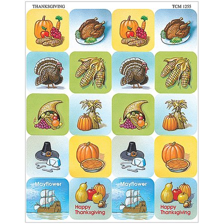 THANKSGIVING STICKERS (Simple Thanksgiving Crafts)
