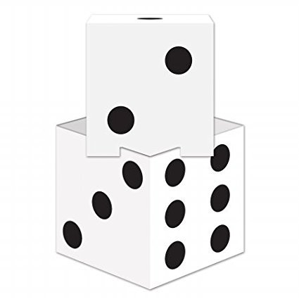 54728 Dice Stacking Centerpiece, 9