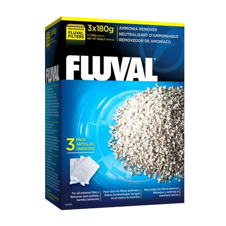 Fluval Ammonia Remover 540g 3x180g-19oz (Hagen Fluval Ammonia Remover)
