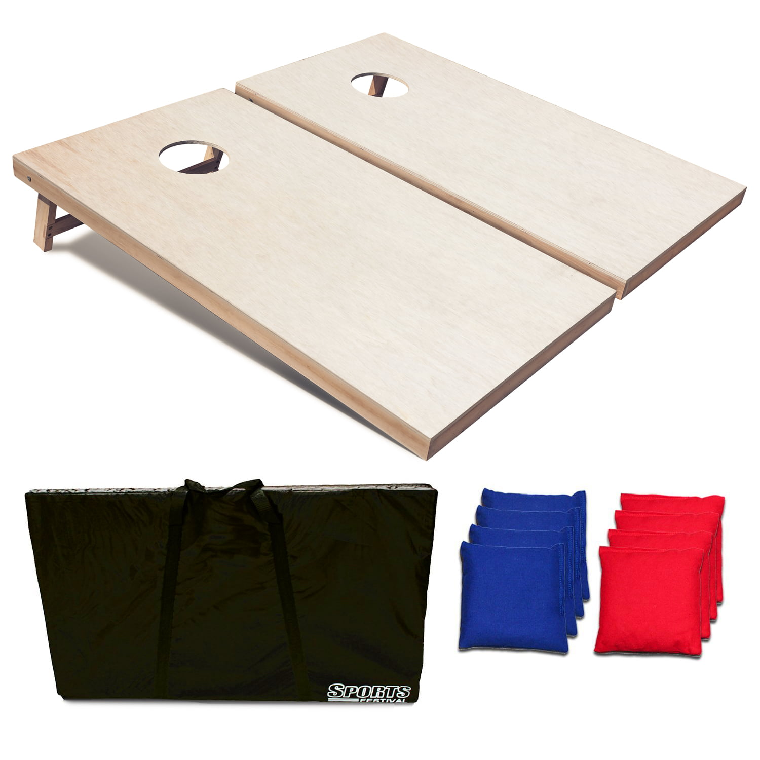 Festival Depot Toss Game Cornhole Set 4x2 ft. by Phelps Group
