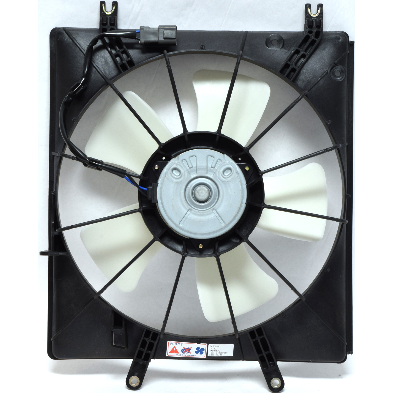 New Engine Cooling Fan Assembly 1680034 - 19020P8FA01 TL