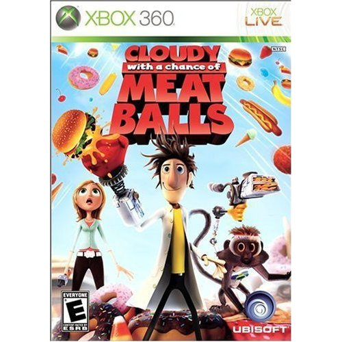 Ubisoft Cloudy with a Chance of Meatballs  -  Xbox 360