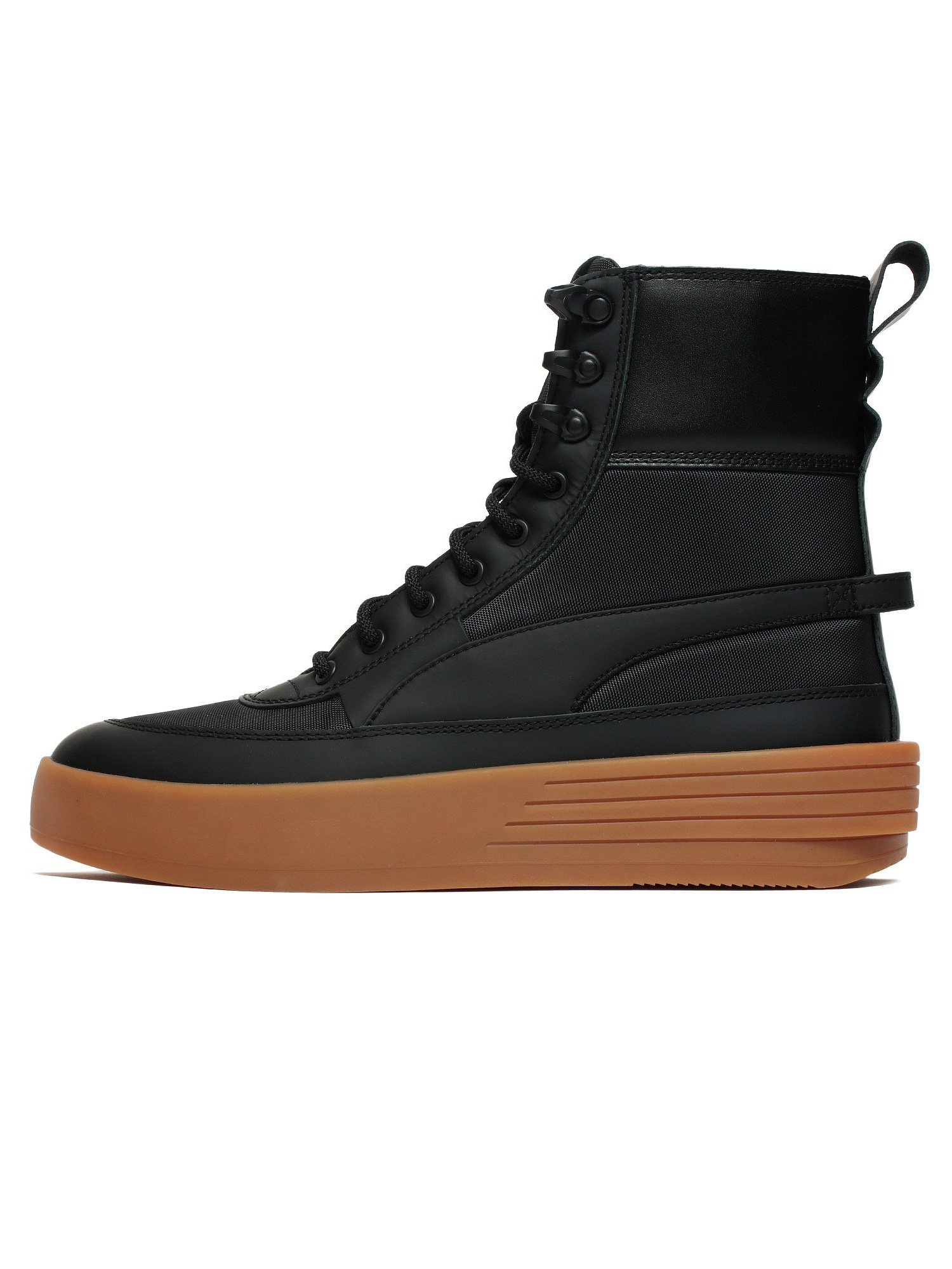 Mens Puma x The Weeknd Parallel 2.0 XO Tactical Black Gum Brown 367177 by