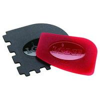 Lodge Combo Red/Black Pan Scraper, 2 Piece