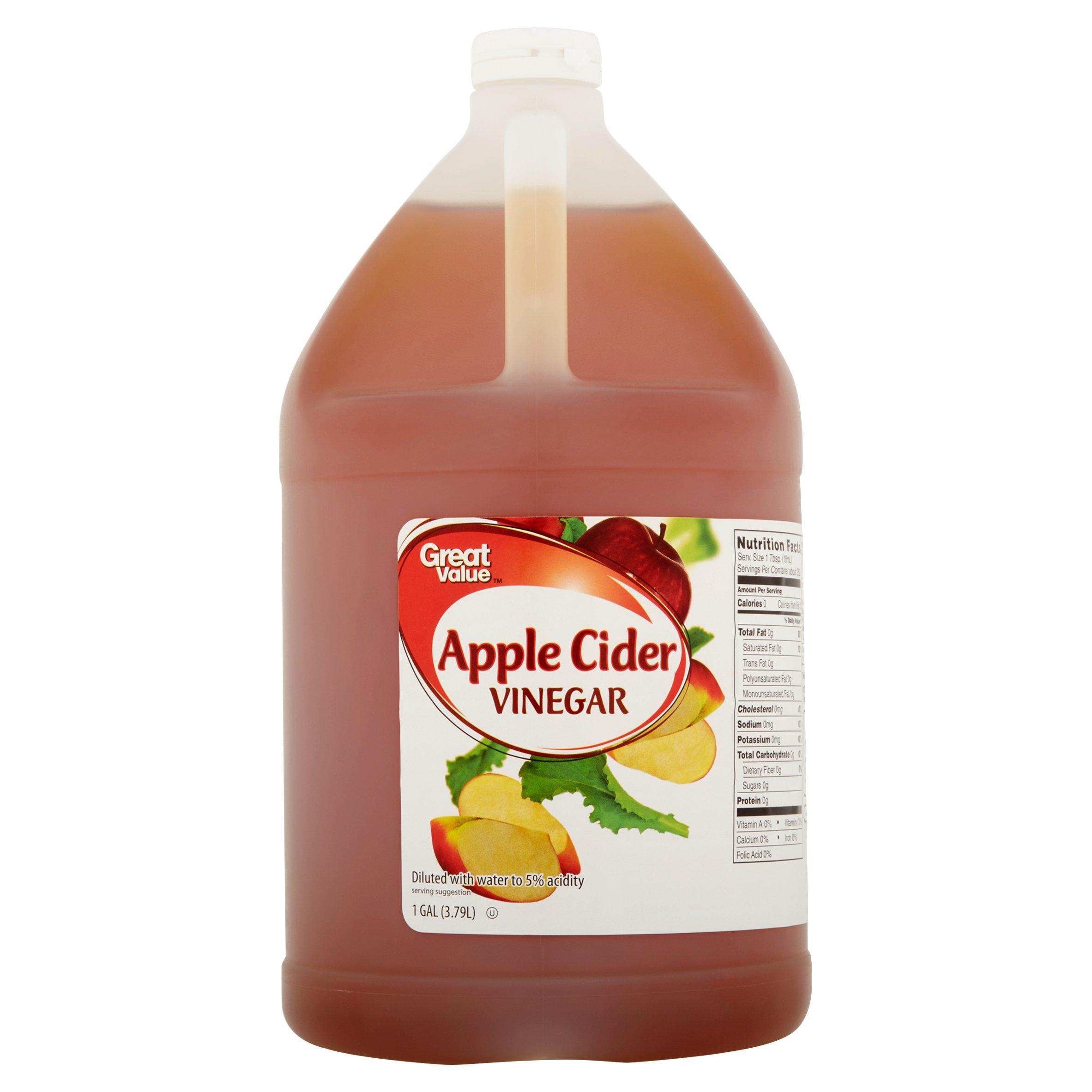 Great Value Apple Cider Vinegar, 1 gal
