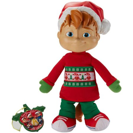 Alvin and the Chipmunks Singing Holiday Themed Alvin Plush