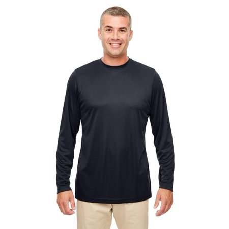Mens Cool & Dry Performance Long-Sleeve Top-8622