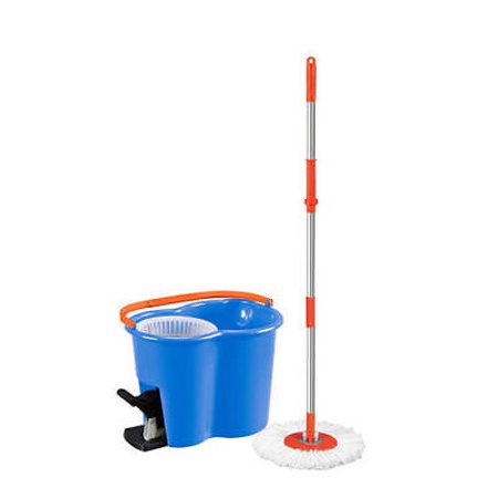 Pedal Spin Spinning Rotating Round Spinner Mop Magic Bucket Kit Spin Doctor Essential Tool Kit