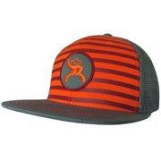HOOEY YOUTH WESTERN HAT ROUGHY PATCH BASEBALL CAP GREY MAROON