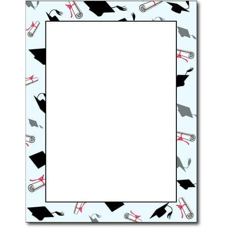Graduation Letterhead Paper Paper - 80 Sheets